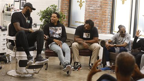 Up The Shop by Lebron Barbershop Set Talk Show Picked Up By Hbo