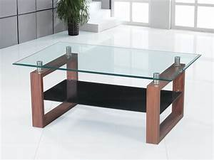clear glass coffee table with wooden legs homegenies With glass coffee table with wooden legs
