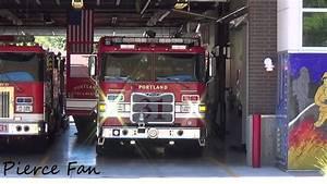 Engine 31 Responding Portland Fire  U0026 Rescue  2013 Pierce