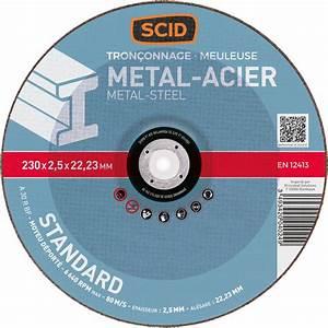 Disque A Tronconner : disque tron onner standard scid m taux diam tre 230 ~ Dallasstarsshop.com Idées de Décoration