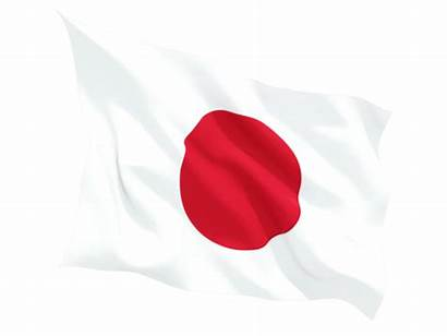 Flag Japan Japanese Fluttering Transparent Clipart Sun