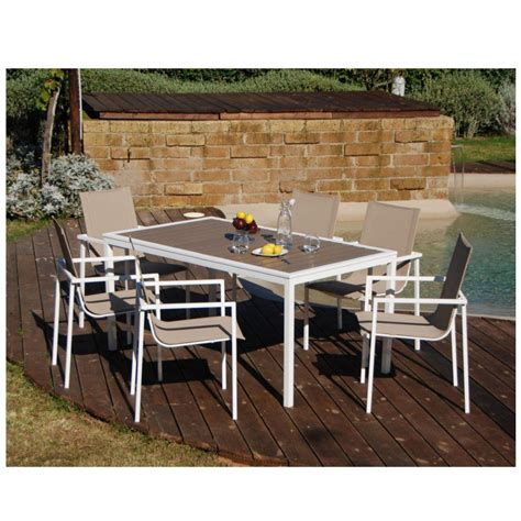 tavoli e sedie da giardino in ferro set pranzo moderno in ferro tavolo e 6 sedie da