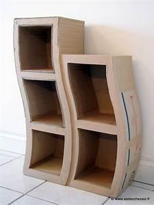 Petite Etagere De Coin : patron de meuble en carton petite etag re hondule mille ~ Edinachiropracticcenter.com Idées de Décoration