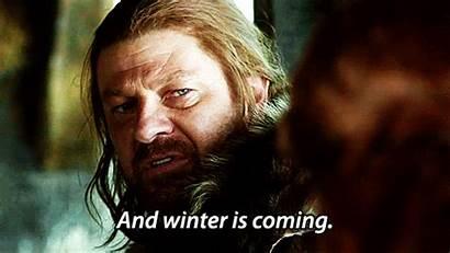 Coming Snowmageddon Winter Stark Blizzard Ned According