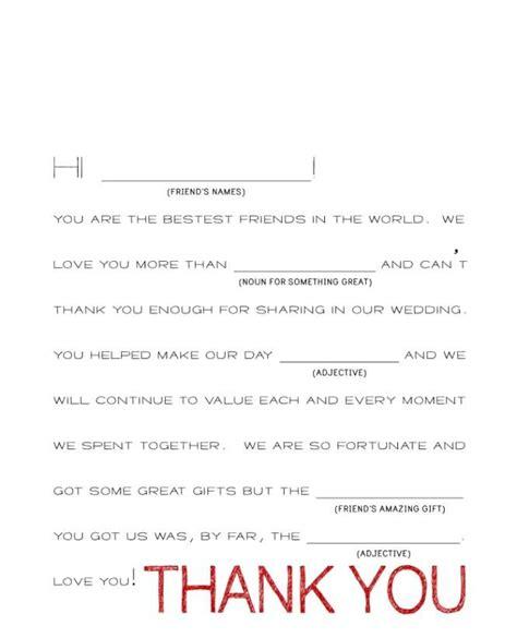 wedding gift   note wording   card