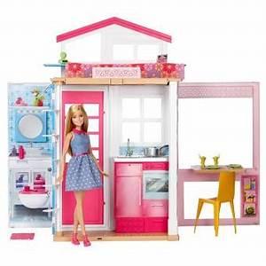 Playset Barbie Et Sa Maison Maison De Poupe Achat