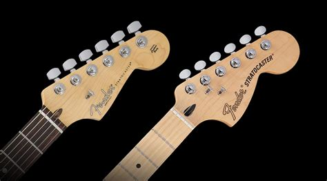 The Pdf Template Fender Stratocaster Standerd Headstock by How The Strat Came To Have Two Heads