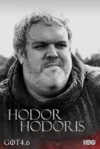 Hodor Game of Thrones Season 4