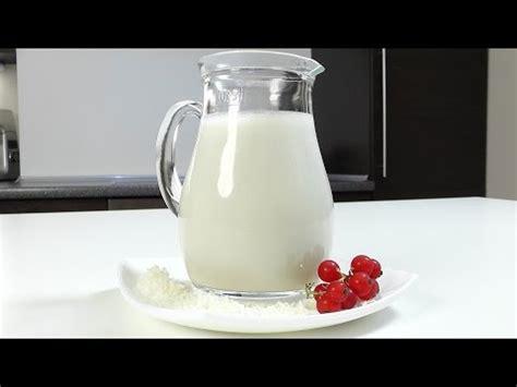 Kokosriekstu iebiezinātais piens - YouTube