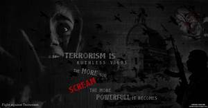 Stop Terrorism - POSTER by dineshgreddy on DeviantArt