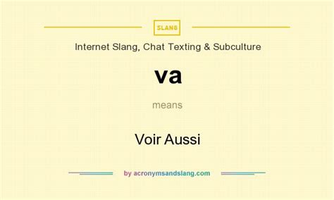 meaning of vas va voir aussi in slang chat texting