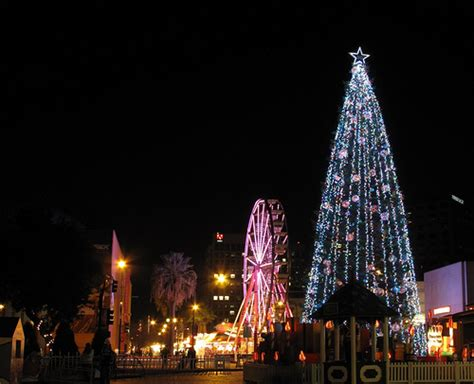 2017 christmas in the park opening 60 foot tree lighting