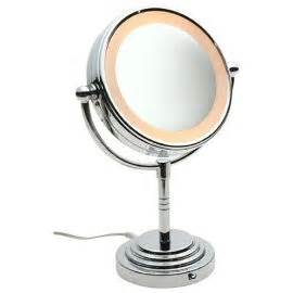 conair 5x magnified lighted makeup mirror conair be4r classique double sided lighted makeup mirror