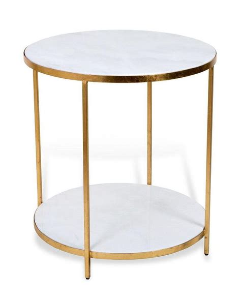 gold and marble end table white marble gold end table products bookmarks design