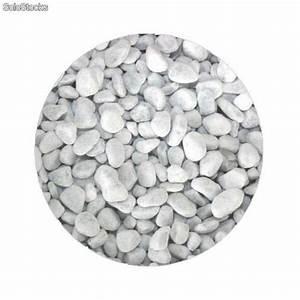 Galet Marbre Blanc : galet marbre blanc 12 16mm et autres calibres ~ Nature-et-papiers.com Idées de Décoration