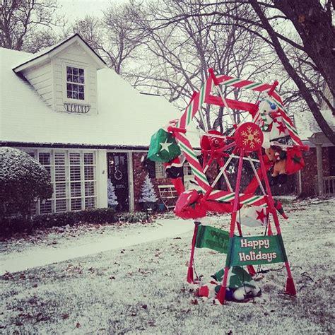christmas ferris wheel lawn decoration christmas decore