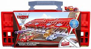 Disney Cars 2 - World Grand Prix Race Launcher - Walmart ...