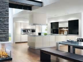 grifflose küche grifflose küche im modernen stil wenn weniger mehr ist