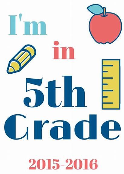 Grade 5th 8th Signs 4th Printables Pre