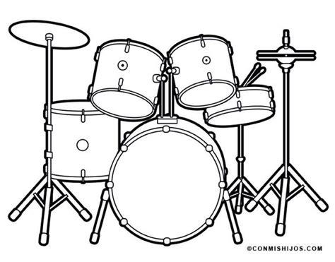 süße bilder zum malen kostenlose malvorlage musik schlagzeug zum ausmalen