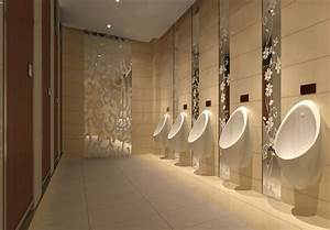How to Make a Modern Public Bathroom Toilet with a ...