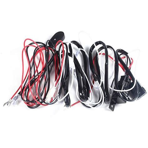 Relay Harness Wire Kit Led Off Switch For Fog