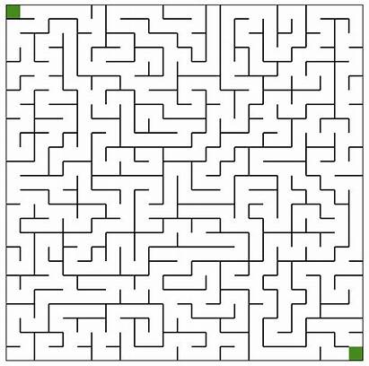 Mazes Printable Maze Medium Puzzles Worksheet Coloring