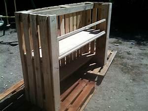 Fabriquer Un Bar : ides de plan pour construire un bar en palette galerie dimages ~ Carolinahurricanesstore.com Idées de Décoration