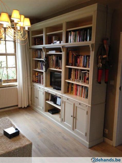 grote landelijke boekenkast dehandsbe home kasten