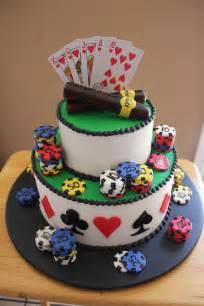 Poker Men's Birthday Cake