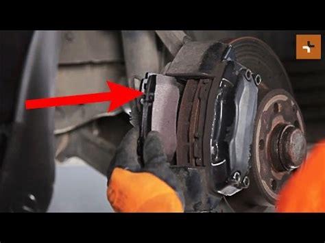 remplacement des plaquettes de frein avant mercedes benz