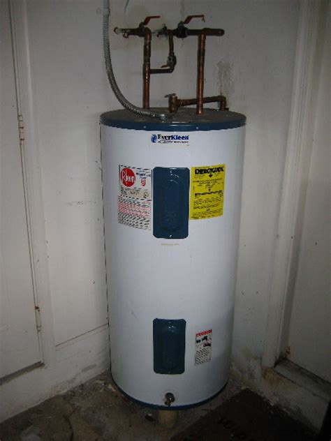 Gas Water Heater March 2016
