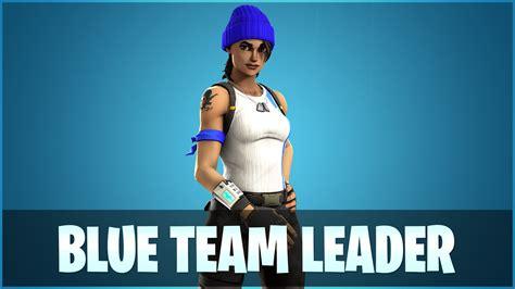 blue team leader fortnite wallpapers  wallpapersafari