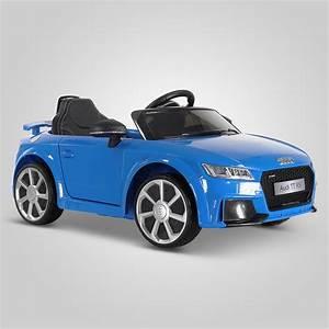 Voiture Electrique Bebe Audi : voiture lectrique pour bebe 12v 2 places audi tt rs 50w ~ Dallasstarsshop.com Idées de Décoration