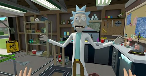 Rick And Morty To Celebrate 420 With Vr Game Polygon