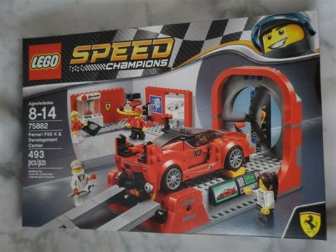 Be the first to review lego 75882 speed champions ferrari fxx k & development center cancel reply. LEGO Speed Champions Ferrari FXX K & Development Center 2017 (75882) for sale online | eBay