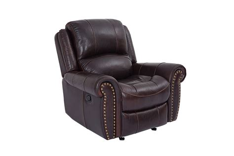 rocker recliners on westland leather rocker recliner at gardner white