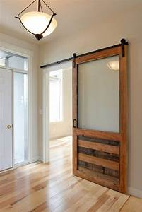 sliding doors grain designs With barn door with glass window