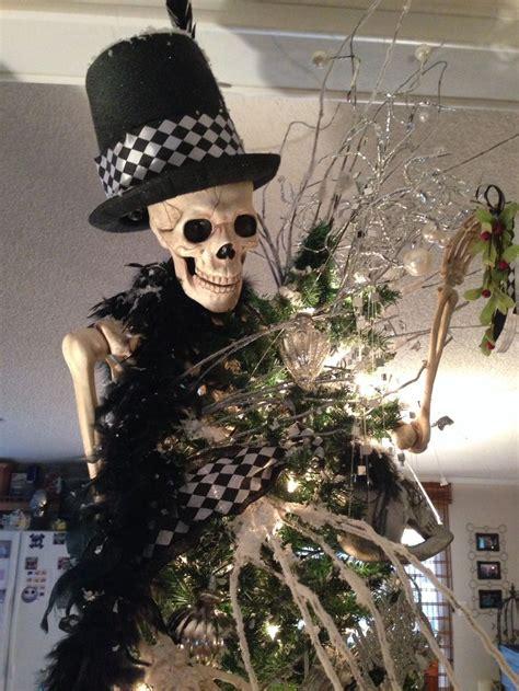 skullskeleton christmas tree skull christmas tree
