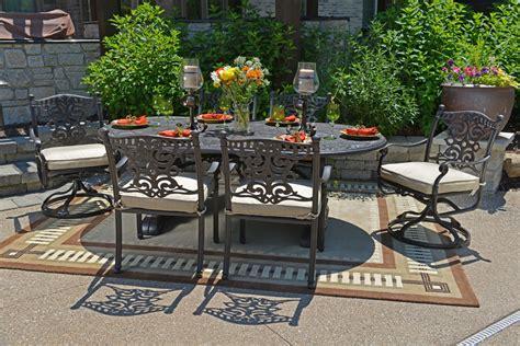 cast aluminum modern cast aluminum patio furniture