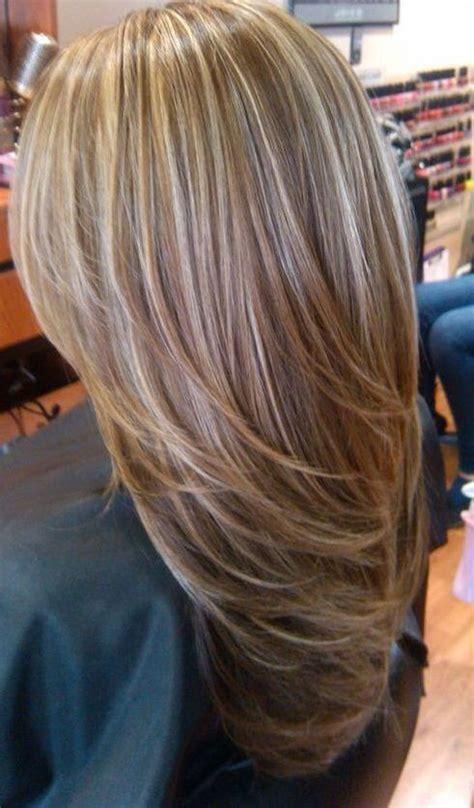 light blonde hair with highlights light blonde highlights on medium brown hair hair and