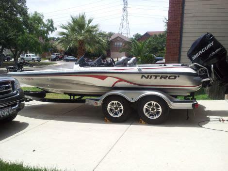 Fishing Boat Rentals In San Antonio by 21 Foot Tracker Nitro 929 Cdx 21 Foot 2008 Fishing Boat