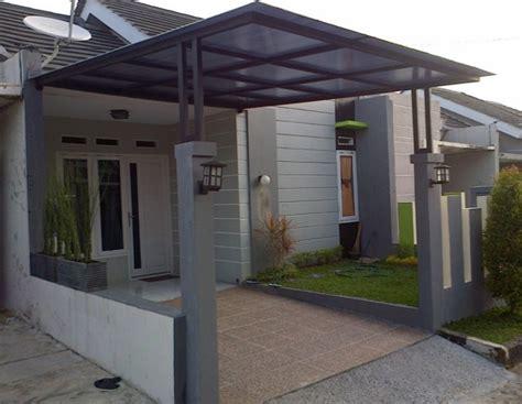model teras rumah desain rumah minimalis
