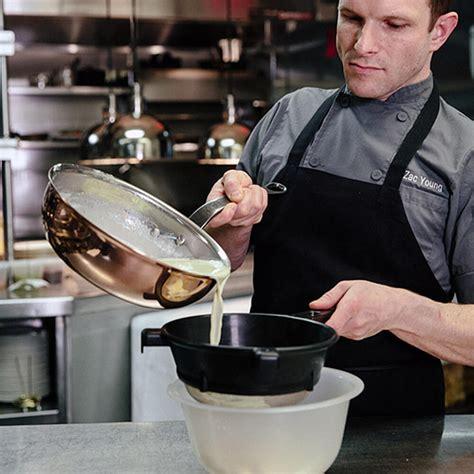 matfer bourgeat copper  qt saucier pan  lid  diameter