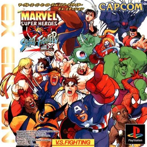 marvel super heroes  street fighter  arcade  mobygames