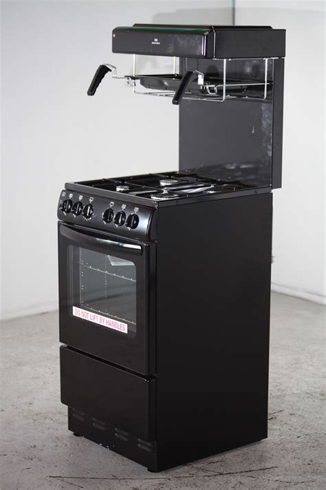 best cooker new world gas cooker with top grill nw50thlg black 2
