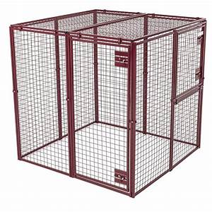 lucky dog animal house standard flat roofed animal pen box With costco dog kennel for sale
