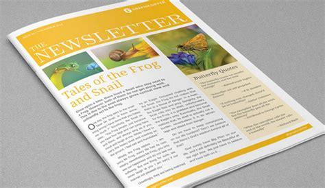 free indesign newsletter templates 4 adobe indesign newsletter templates af templates