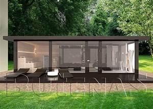 Gartenhaus Mit Glasfront : ob modernes wohnhaus aus holz innensauna mit glasfront oder klassisches gartenhaus ihr traum ~ Markanthonyermac.com Haus und Dekorationen