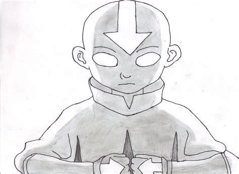 Aang Avatar State By Johnx13 On Deviantart